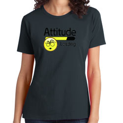 Attitude - Ladies Soft Cotton T Thumbnail