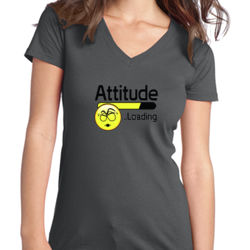 Attitude - Juniors V-Neck T Thumbnail