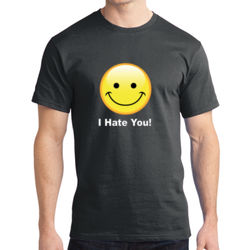 I Hate You - Adult Soft Cotton T Thumbnail