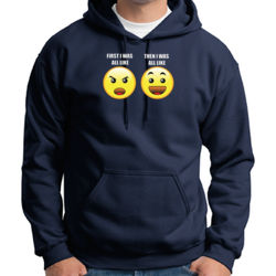 First I Was Like - Adult 50/50 Blend Hoodie Thumbnail