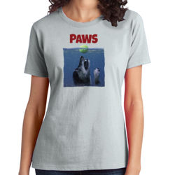 Paws - Ladies Soft Cotton T Thumbnail