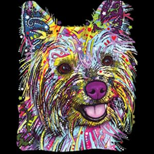 Colorful Yorkie Thumbnail