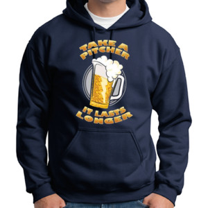Take a Pitcher - Adult 50/50 Blend Hoodie