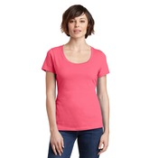 Ladies Premium Scoop T