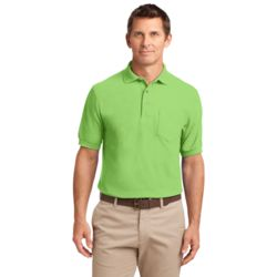 Adult Silk Touch Pocket Polo Thumbnail
