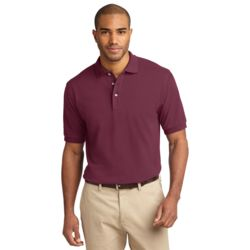 Adult Pique Knit Polo Thumbnail