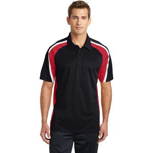 Adult Tricolor Micropique Polo Thumbnail