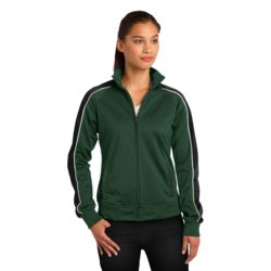 Ladies Piped Track Jacket Thumbnail