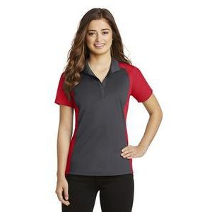Ladies Colorblock Micropique Polo Thumbnail