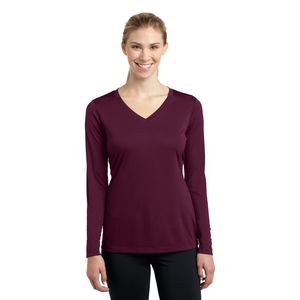 Ladies LS Competitor V Neck Thumbnail