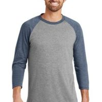 Mens Perfect Tri ™ 3/4 Sleeve Raglan Thumbnail