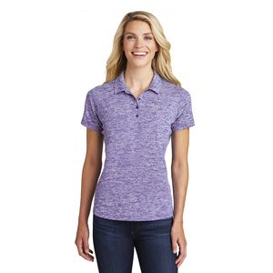 Ladies Electric Heather Polo Thumbnail
