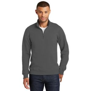 Adult Fan Favorite 1/4 Zip Sweatshirt Thumbnail