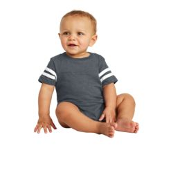 Infant Football Jersey Bodysuit Thumbnail