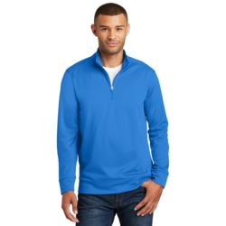 Adult Performance 1/4 Zip Pullover Sweatshirt Thumbnail
