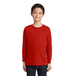 Youth Cotton Long Sleeve T-Shirt Thumbnail