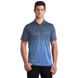 Adult Ombre Heather Polo Thumbnail