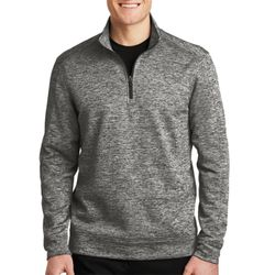 Adult Electric Heather 1/4 Zip Pullover Thumbnail