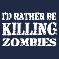 Rather Kill Zombies T-Shirt Design