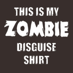 Zombie Disguise T-Shirt Design