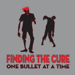 Finding the Cure Ladies T Design