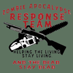 Zombie Weapons T-Shirt Design