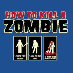 Zombie How-To Hoodie Design