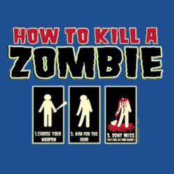 Zombie How-To T-Shirt Design