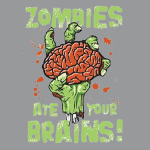 Ate Your Brains Hoodie Design