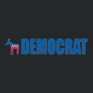 Democrat Ladies T Design