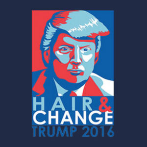 Hair & Change T-Shirt Design