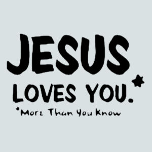 Jesus Loves You Juniors V Design