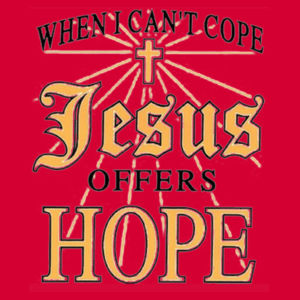 Jesus Offers Hope Ladies T Design