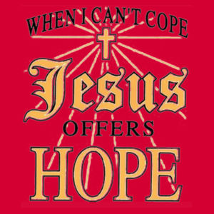 Jesus Offers Hope T-Shirt Design