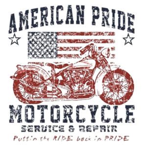 American Pride Ladies T Design