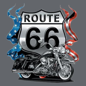 US Route 66 Ladies T Design