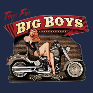 Big Boy Toys Ladies T Design