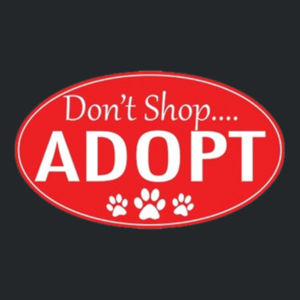 Adopt!  - Juniors V-Neck T Design