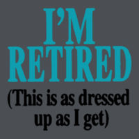 I'm Retired Juniors V Design