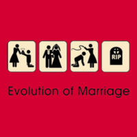 Marital Evolution T-Shirt Design
