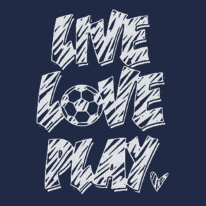 Play Soccer T-Shirt Design