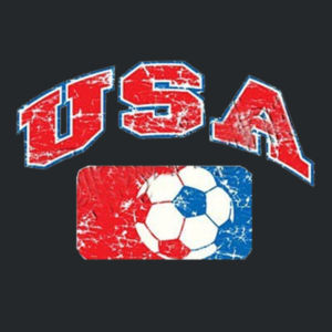 USA Soccer T-Shirt Design