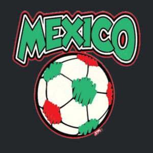 Mexico Soccer T-Shirt Design