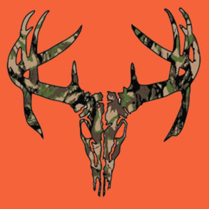 Camo Hunting T-Shirt Design