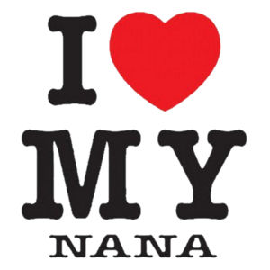 I Love Nana Youth Design