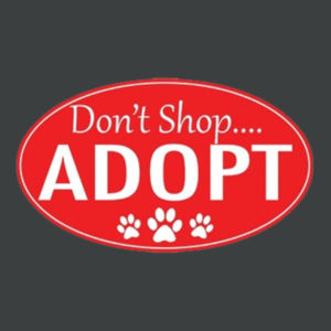 Adopt!  - Adult Soft Tri-Blend T Design
