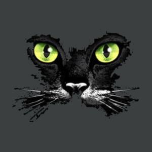Cat Face - Adult Soft Tri-Blend T Design