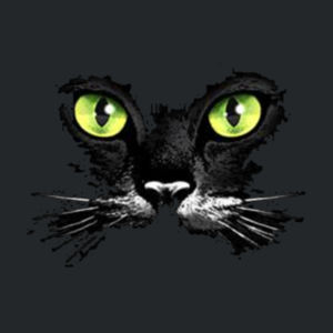 Cat Face - Juniors V-Neck T Design