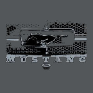 Mustang Grill - Ladies Soft Cotton T Design