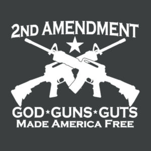 2nd Ammendment - Adult Soft Tri-Blend T Design